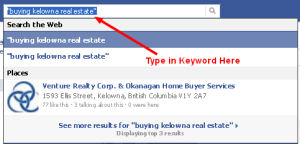facebook real estate prospecting