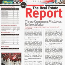 Kelowna and area newsletter and stats update