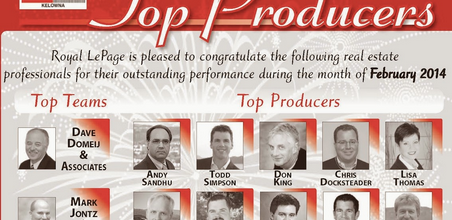 Congrats to the top professionals of February 2014