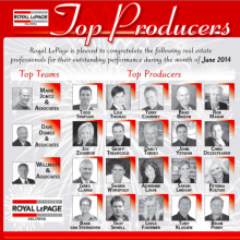 Congrats To The Top Professionals Of June 2014