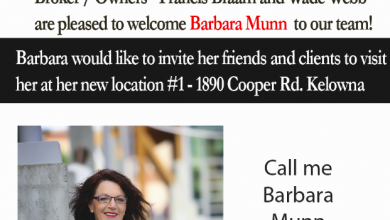 Welcome to the team Barbara
