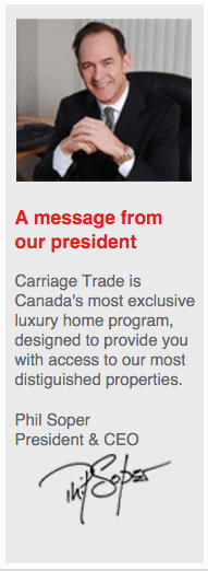 carriage-trade-message