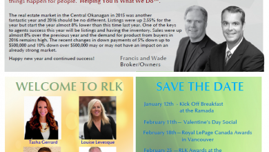 What's Happening At Royal Lepage Kelowna