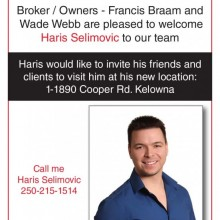 Welcome to the team Haris