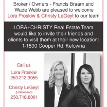 Welcome to the team Lora and Christy