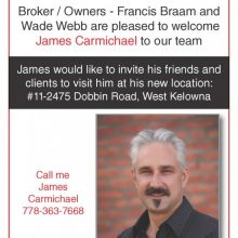 Welcome to the team James!