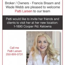 Welcome to the team Patti!