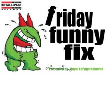 Friday Funny Fix