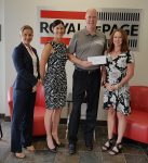 Kelowna Women's Shelter Cheque Presentation - June 2017