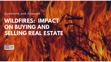 Wildfires:  Impact on Buying and Selling Real Estate