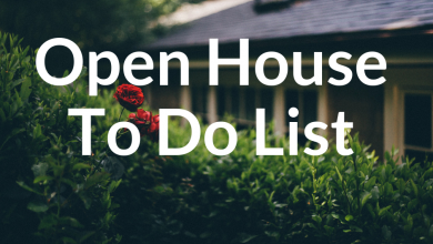 Open Houses Tour:  6 Things To Do